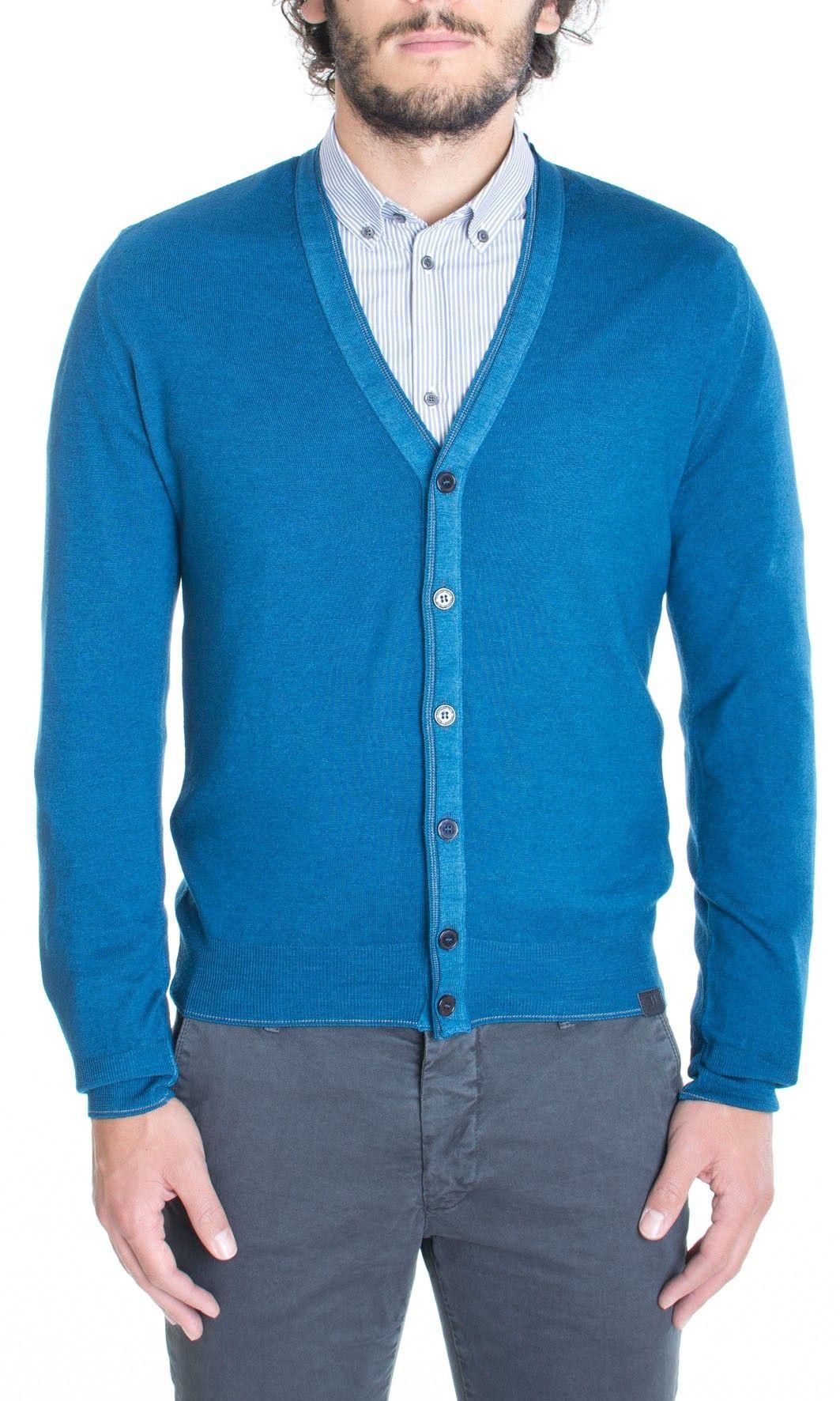 molto carino 77908 624b6 Trussardi Jeans | Cardigan Trussardi Jeans Uomo Maglione Col ...