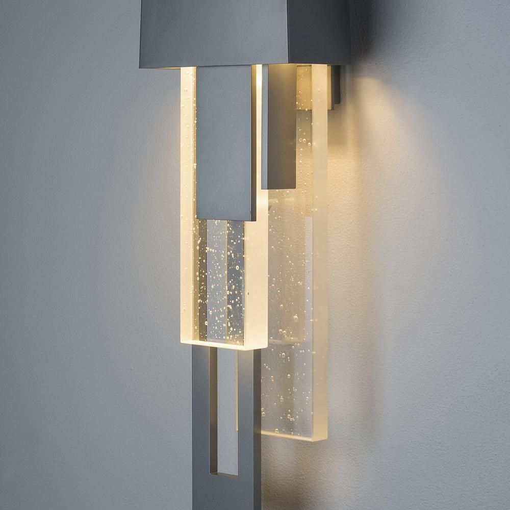 Rainfall Led Outdoor Wall Sconce Lumensnewarrivals Sconces