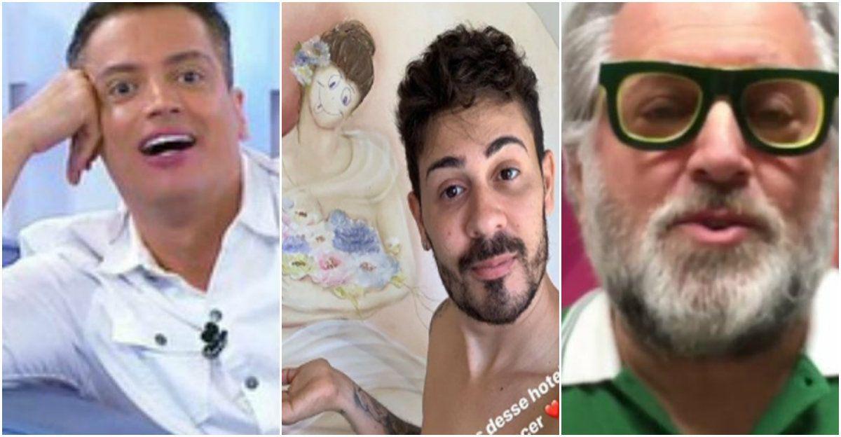Leo Dias Defende Carlinhos Maia E E Criticado Ao Vivo Por Leao