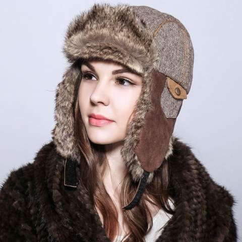 Warm bomber hat womens winter hats birthday gift | Winter hats for women,  Winter hats, Bomber hat