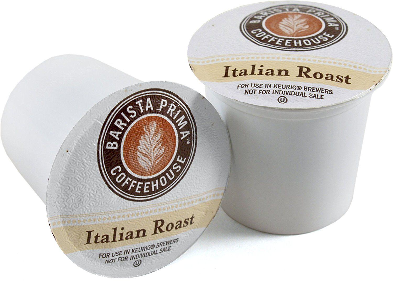Barista prima italian roast coffee keurig kcups 72 count