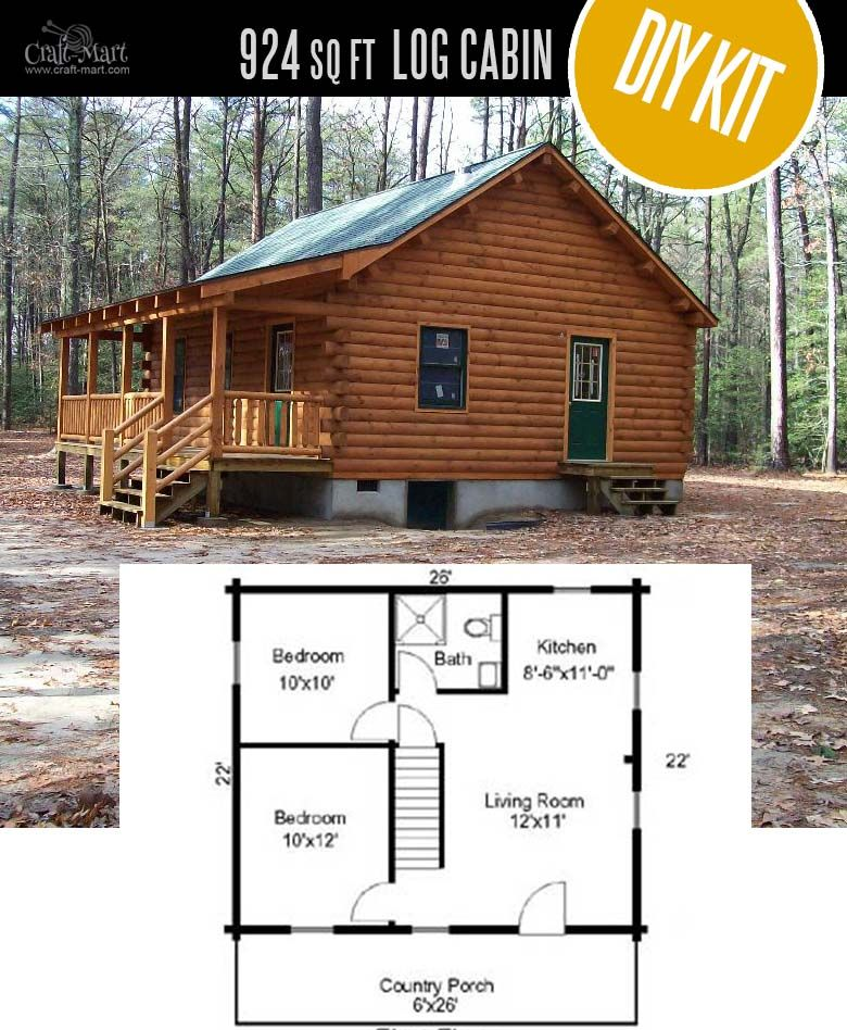 Tiny Log Cabin Kits Easy Diy Project Small Log Cabin