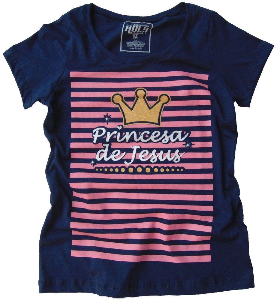 Camisa Princesa de Jesus - Feminina GG  4bac823613d