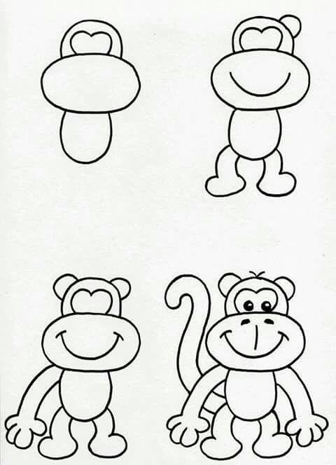 Completar Figura Jardin Dibujos Fáciles Dibujos Fáciles De