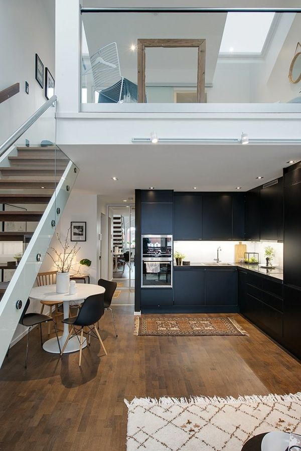 Le loft parisien inspiration et style unique ideas for the house pinterest - Decoration studio parisien ...