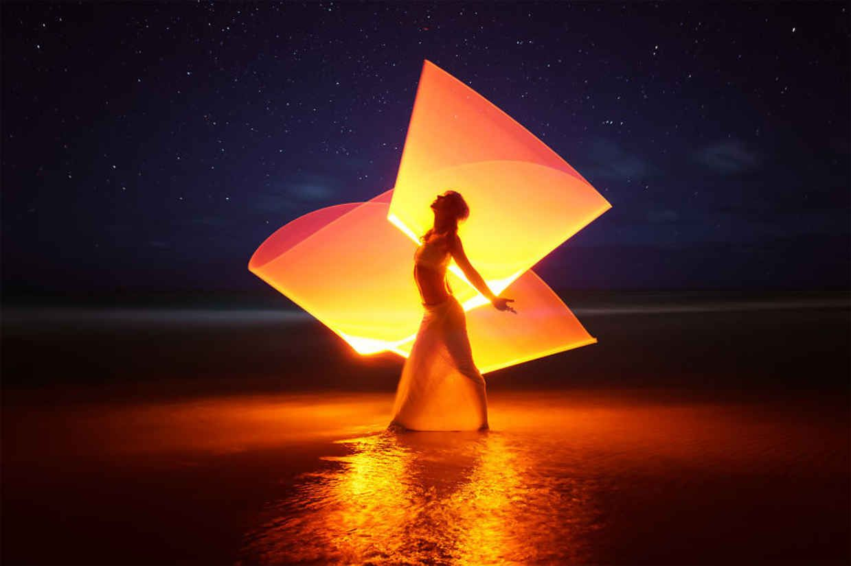 Photographer Travels The World Creating Beautiful Light Paintings Light Painting Light Painting Photography Fantasy Portraits