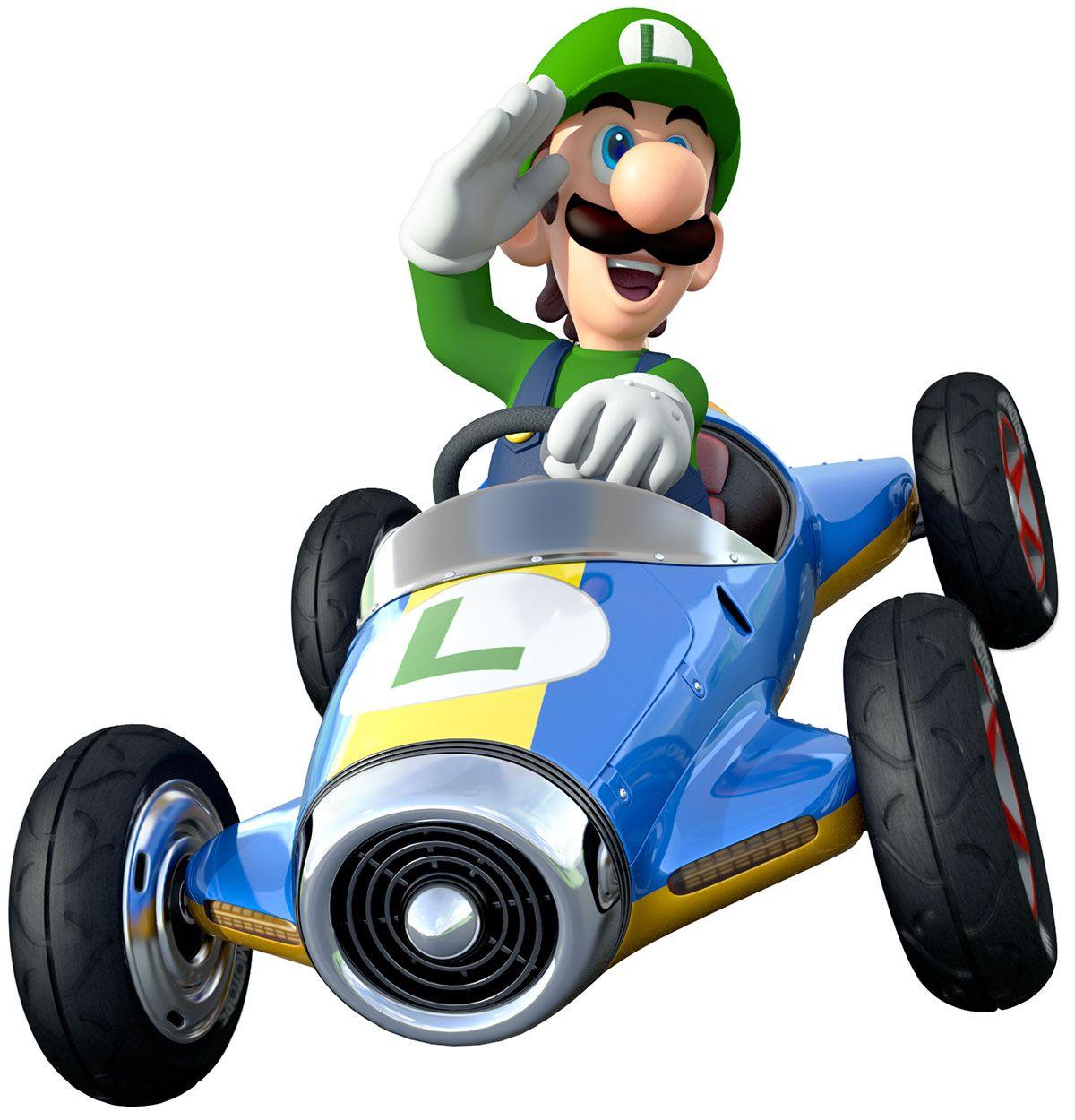 Donkey kong mario kart wii car tuning - Luigi Mario Kart 8 Nintendo Wiiu