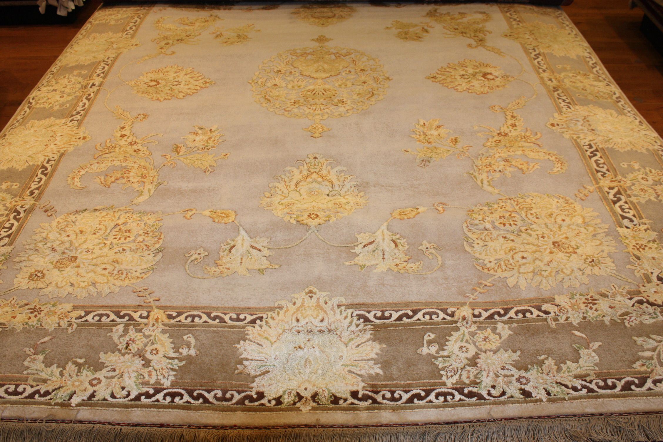 Attractive Wool And Silk Rugs Rug Designs