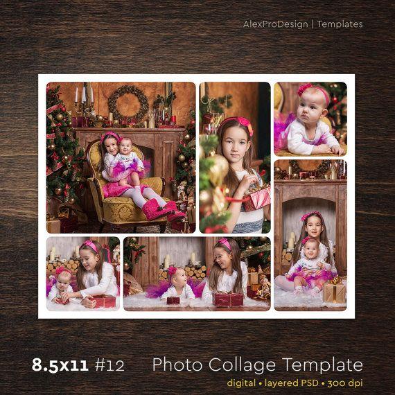 Foto Collage plantilla 85 x 12 12 Foto 6 plantilla de | Fotos ...