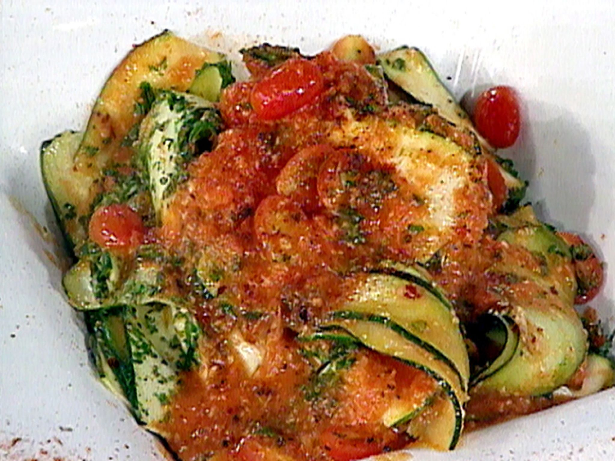 Zucchini pappardelle with fine herbs and tomato recipe from emeril zucchini pappardelle with fine herbs and tomato recipe from emeril lagasse via food network gf recipesvegetarian recipesdishes forumfinder Images