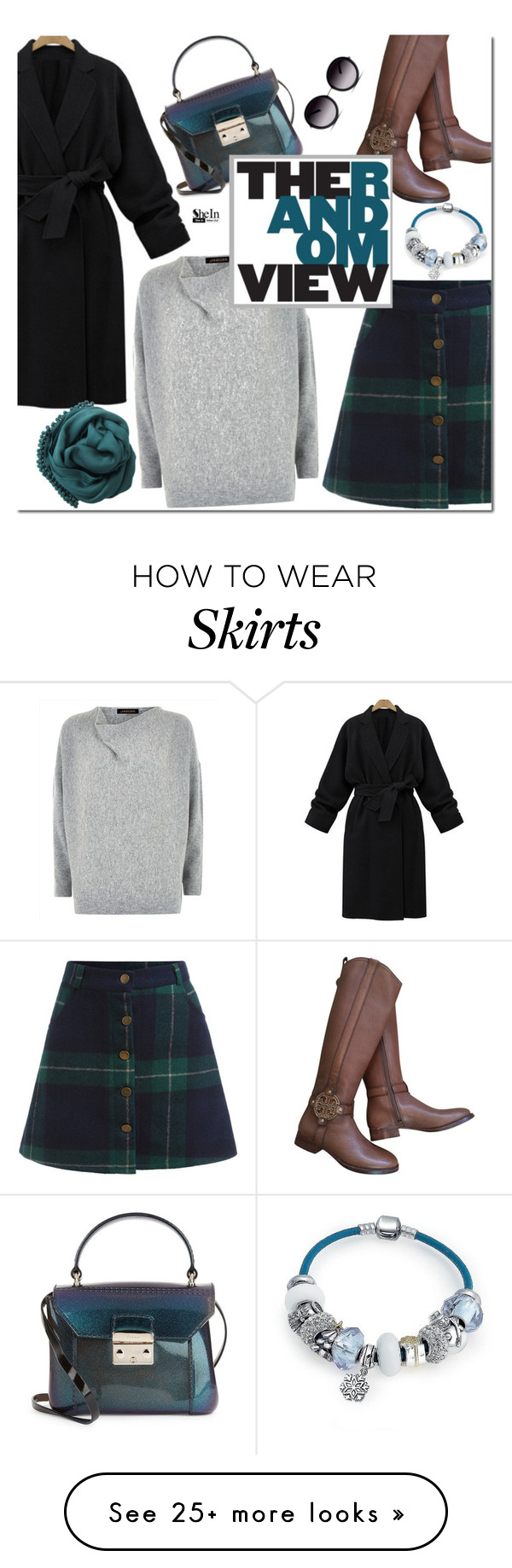 """""""Teal look"""" by mada-malureanu on Polyvore featuring Tory Burch, Jaeger, Furla, Bling Jewelry, Bajra, GlassesUSA, women's clothing, women, female and woman"""