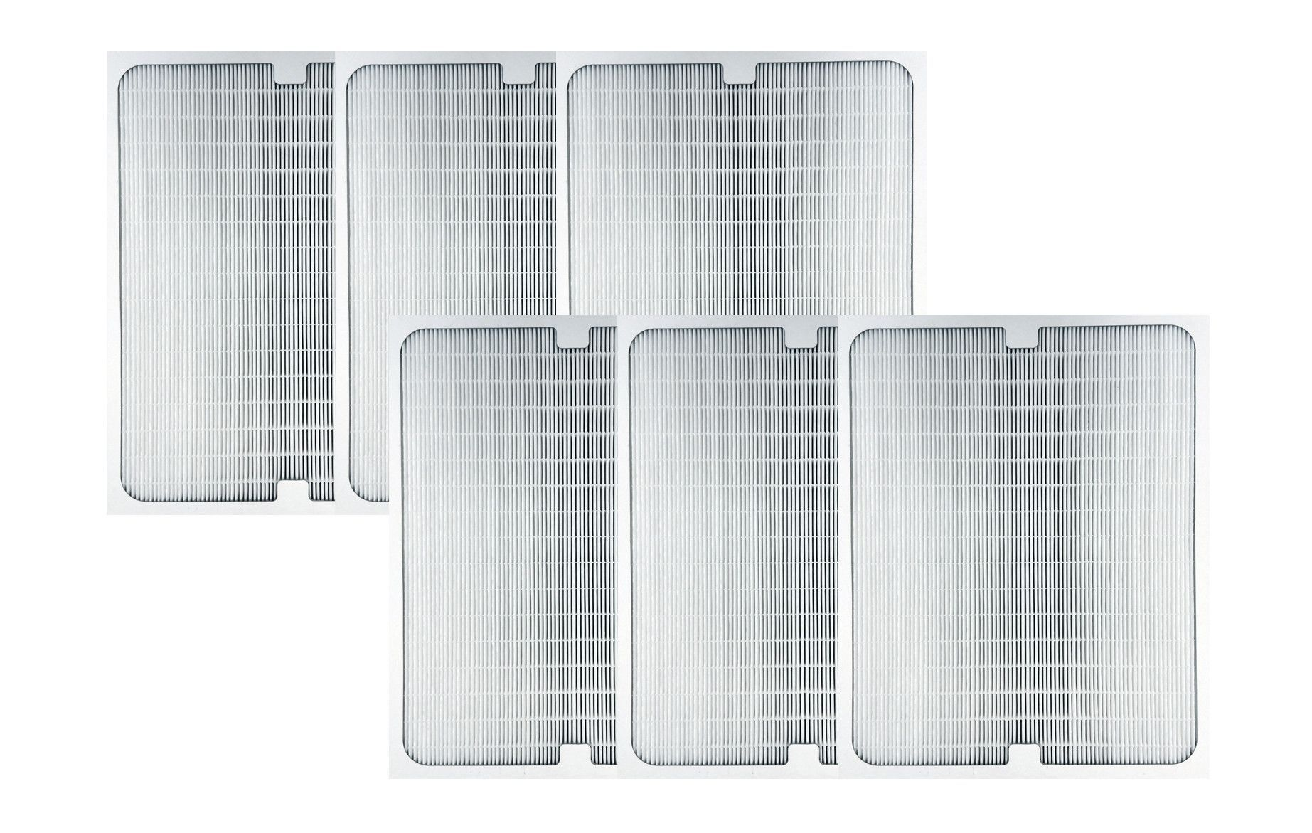 6 Replacement Air Purifier Filters For Blueair 200 300 Series Purifiers Part S 200pf 201pf Filter Air Purifier Air Purifier Purifier