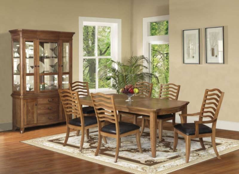 Acme Furniture  Selwyn 8 Piece Dining Table Set In Maple  60715 Best Acme Dining Room Set Decorating Design