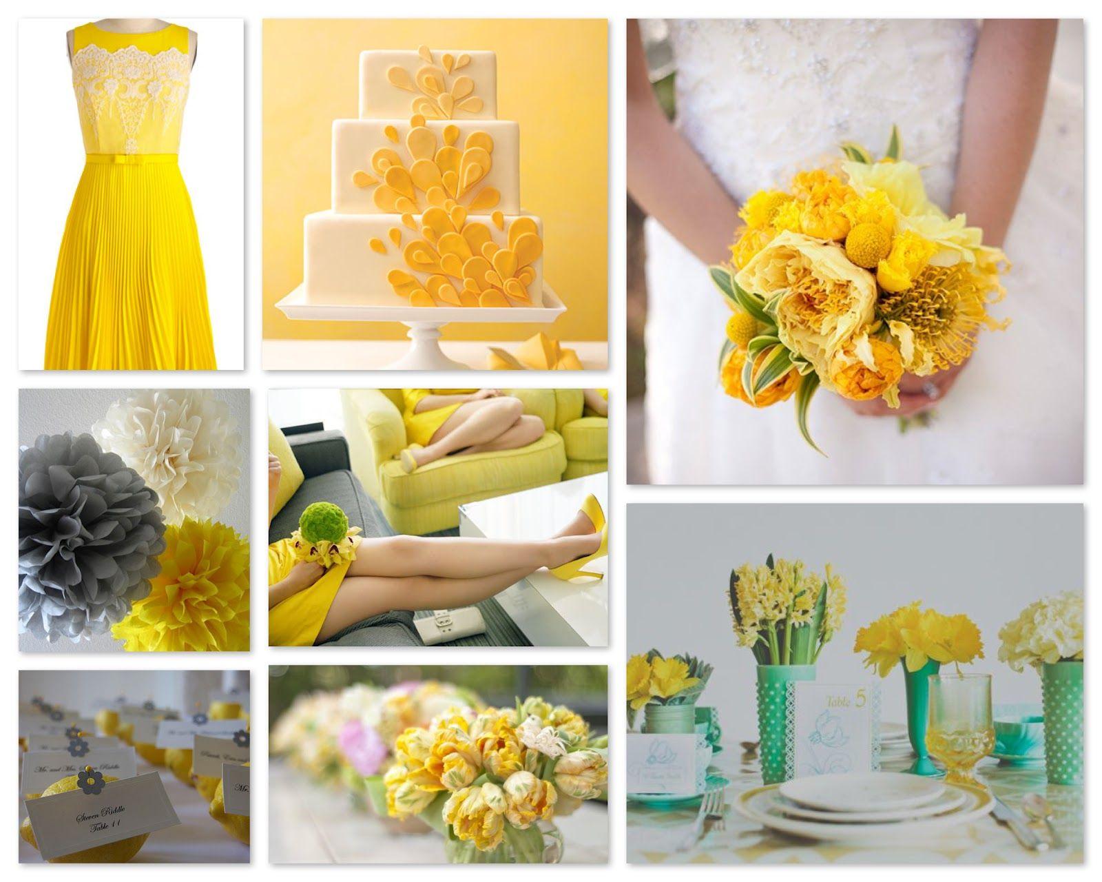 spring wedding 2013 color lemon zest pantone 13 0756 more