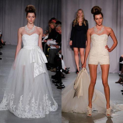 tear away dress?? | wedding?? | Pinterest | Convertible wedding ...
