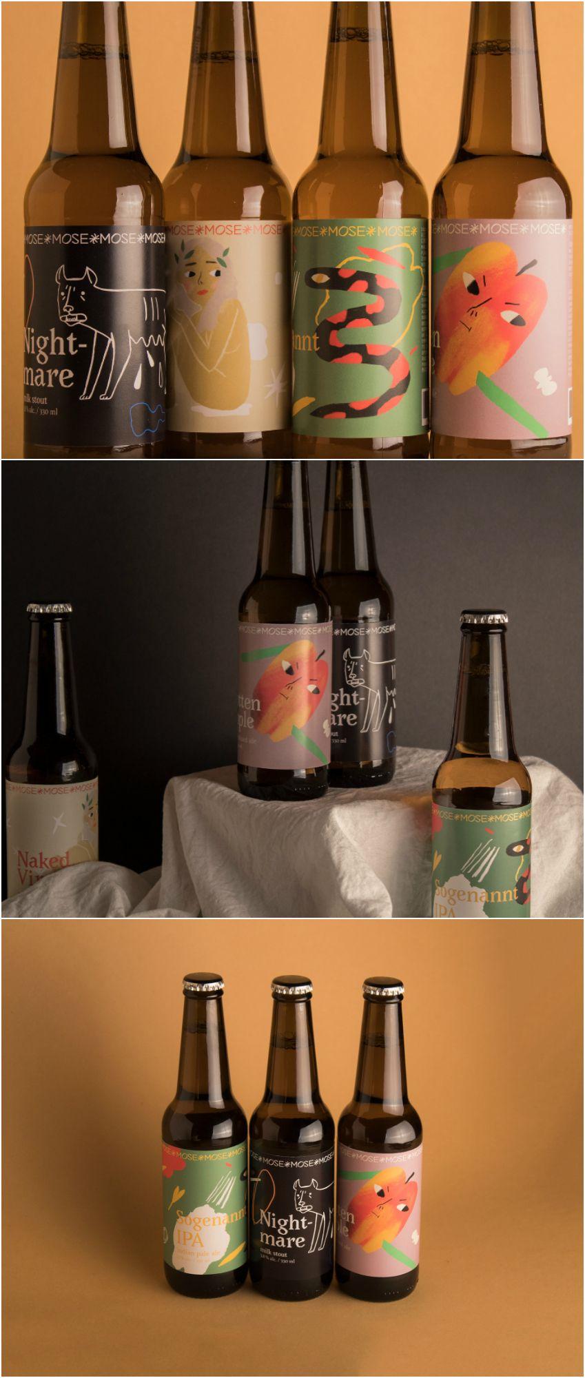 Pin By Dagmara Szturc Graphic Ux Designer On Inspiration Packaging Beer Label Design Craft Beer Labels Craft Beer Brands