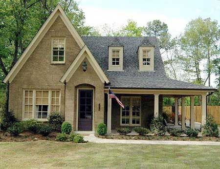 Plan 30742gd 3 Bed House Plan With Classy Wraparound Porch Country Cottage House Plans Porch House Plans Cottage Exterior