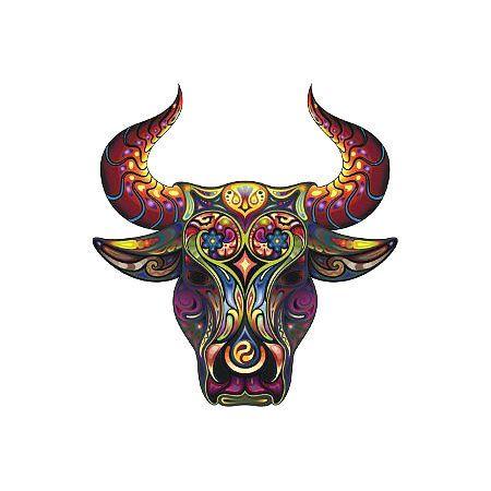 decorative bull head tattoo design pinterest tattoo head rh pinterest com bull head tattoo tribal bull head tattoos pictures
