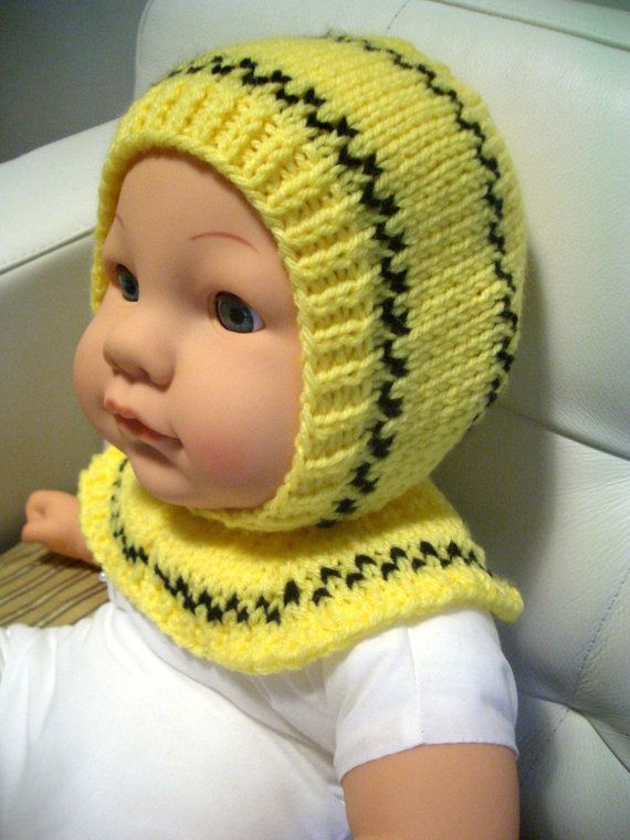 clearance SALE CHECKER hand knitted helmet allinone hat 12 years old ...