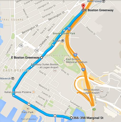 15 Best Bike Paths In Boston Bicycle Trail Bike Path East Boston