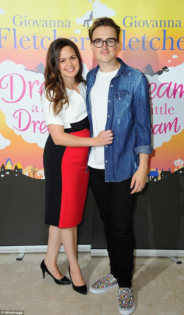 McBusted's Tom Fletcher and wife Giovanna expecting second
