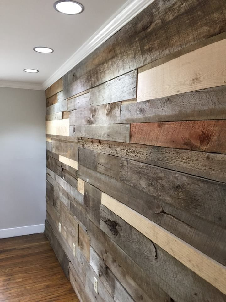 Custom Wood Accent Wall Great For Any Room Nashville Tn Accent Wood Wall Wood Accent Wall Wood Panel Walls Wood