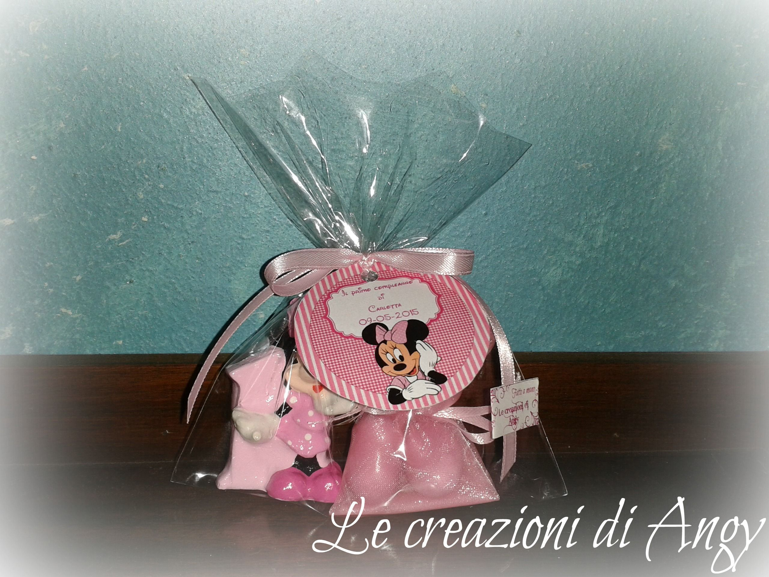 Bomboniere primo compleanno tema Minnie