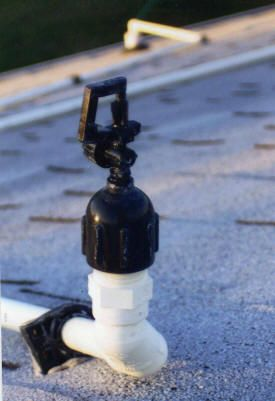 Roof Sprinkler Cooling Systems | Construction | Fire