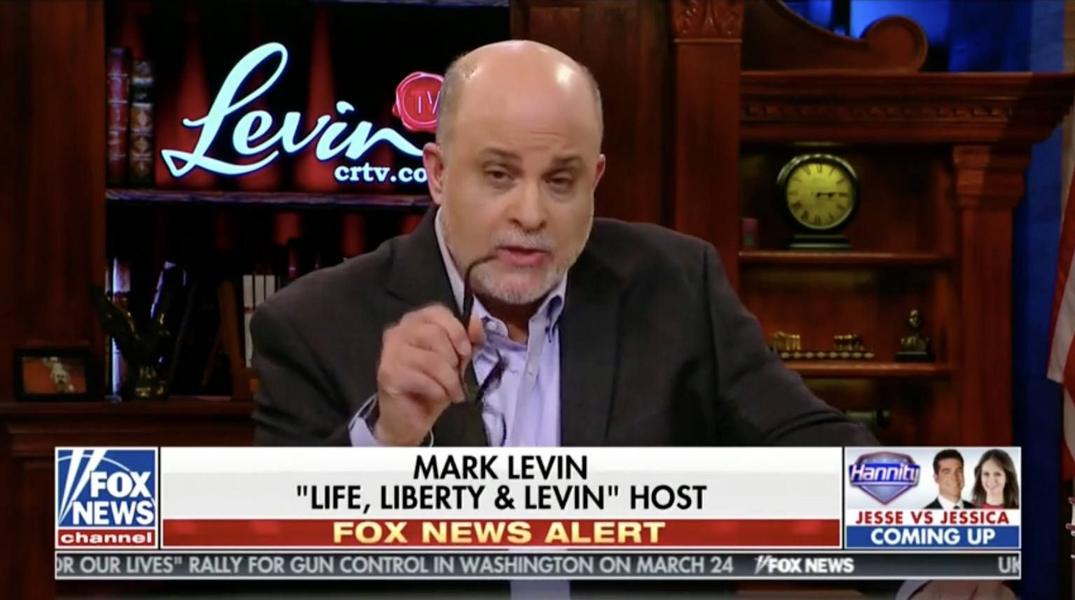 "Levin Goes Off! ""Adam Schiff Is A ""Shill For The Russian"
