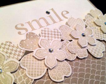 stampin up easter cards using secret garden | Stampin Up! Smile Card from Flower Shop, includes White Envelope ...