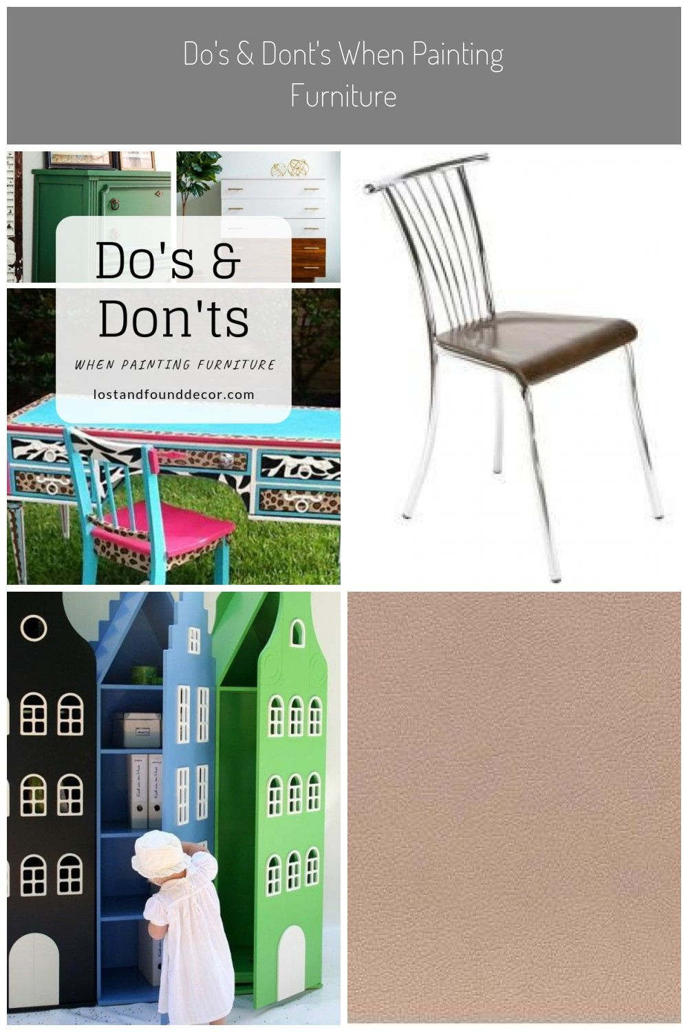 Do S Dont S When Painting Furniture Painted Furniture Decor