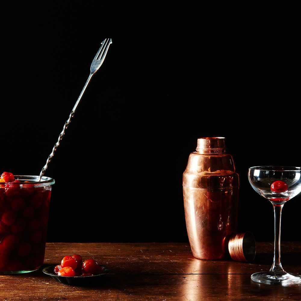 Cocktail Cherries  recipe on Food52