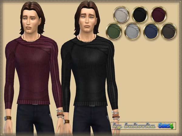 Sweater Asymmetrical Sleeve by bukovka at TSR