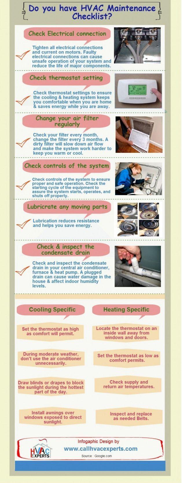 Haben Sie Eine Checkliste Fur Die Hlk Wartung Infografik Wartung