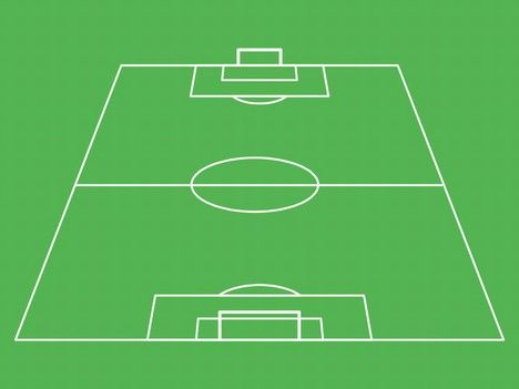 Football Pitch Template In 2020 Football Pitch Football Pitch