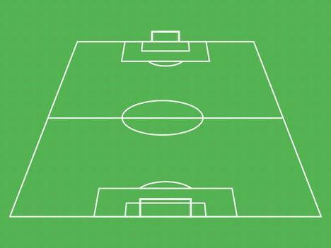Football Pitch Template Football Pitch Football Lineups Football