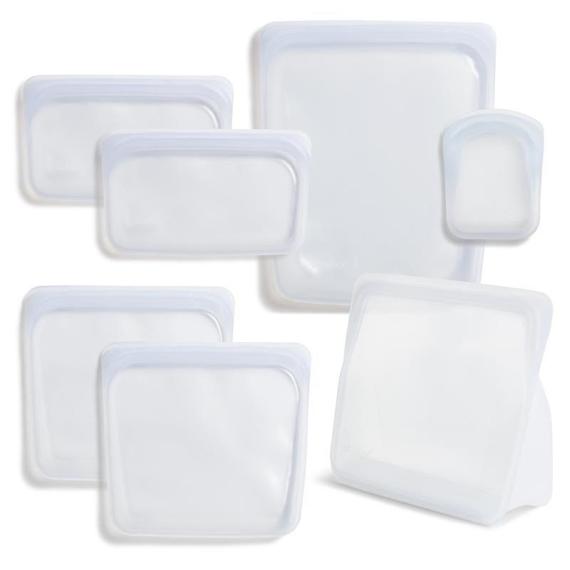 Reusable Silicone Bag Starter Kit Stasher Food Storage Bags Bag Storage