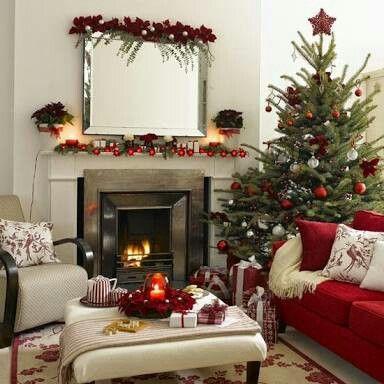 Sala navideña, hermosa