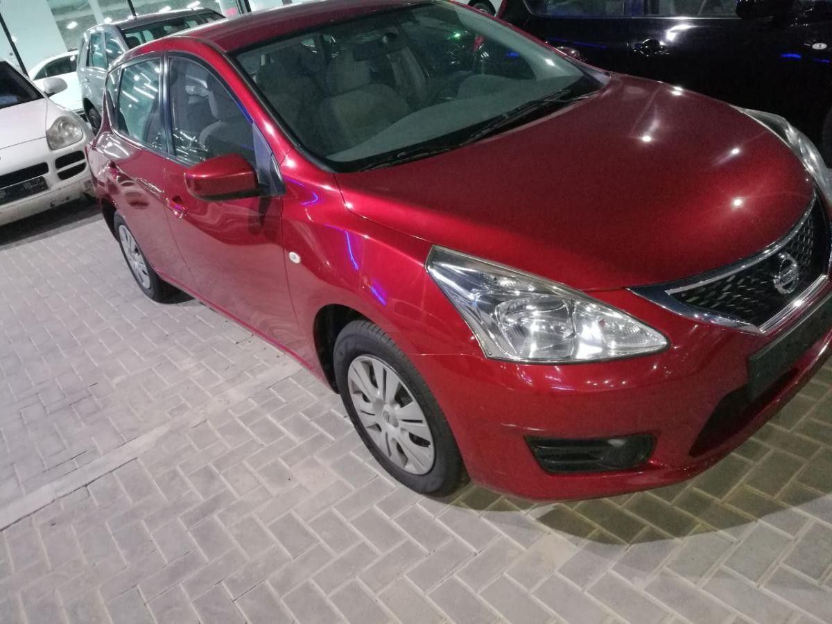 Nissan Tiida 2014 Gcc Spec Good condition Nissan tiida