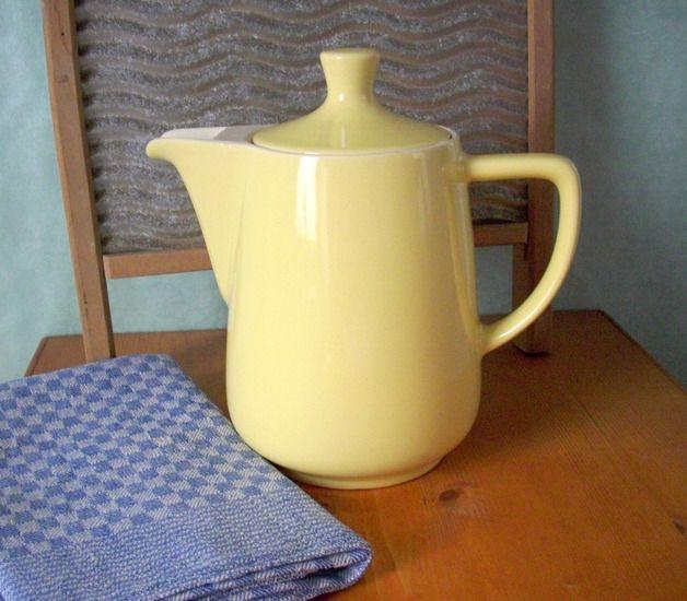 Kaffeekanne Xl Original Melitta Minden Retro Keramik Geschirr
