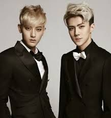 Image result for sehun and tao wallpaper