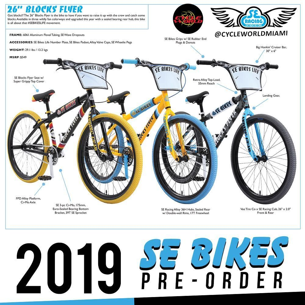 Blocks Flizyer S Are Now In Stizock In Stock Now Sebikes 2019 Blocks Flyers Why Buy Online When We Offer Our Bikes Built Free Bike Bmx Bicycle Flyer