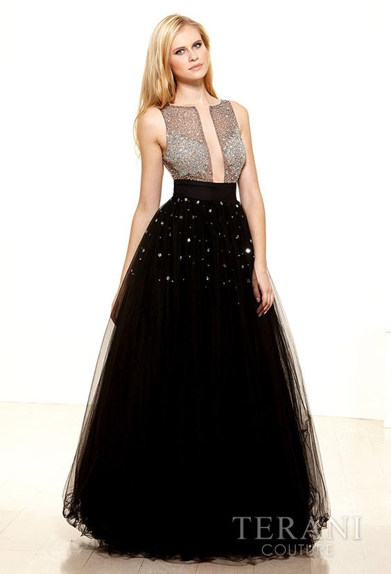 Black prom dress size 0 or size