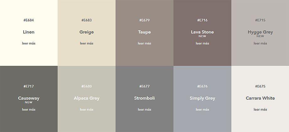 Cin Valentine Incorpora 12 Nuevos Colores A Color Revelation Trends 2018 Paletas De Colores Para Dormitorio Pintura De Interiores Colores De Casas Interiores
