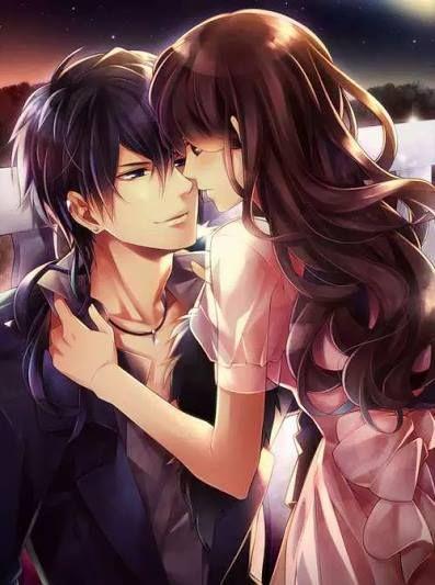 Dibujos De Anime A Color De Amor