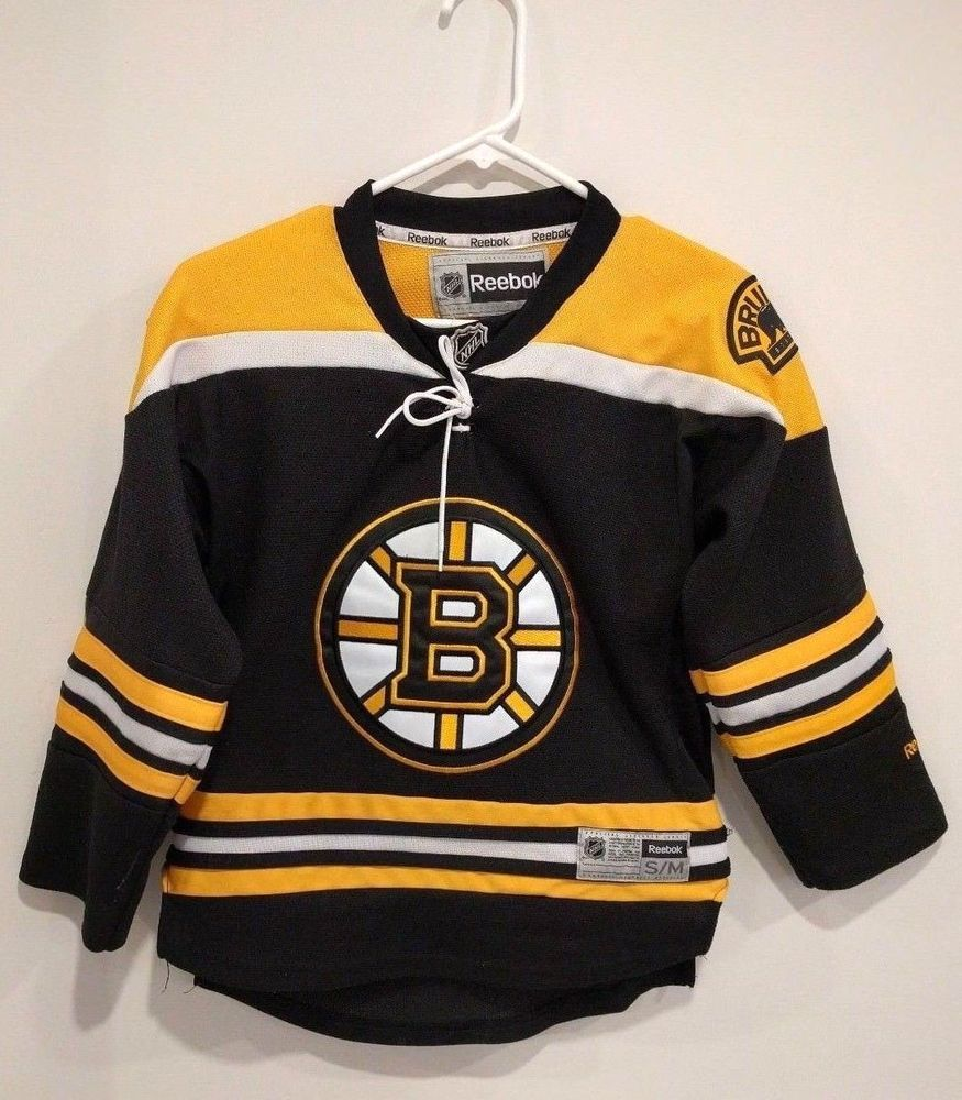 Details about Reebok NHL Boston Bruins Black and Yellow