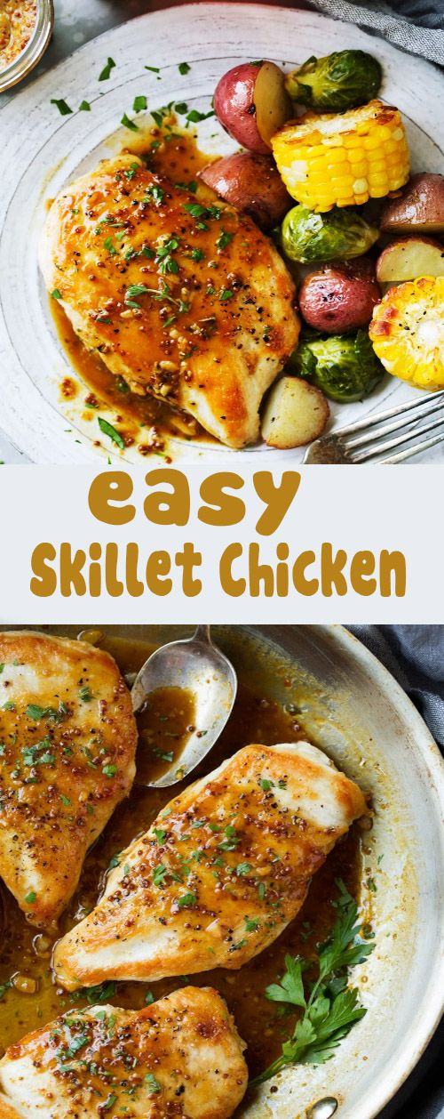 EASY SKILLET CHICKEN images