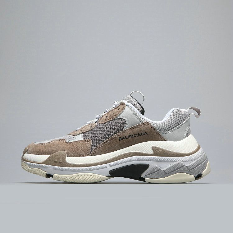 Cheap Balenciaga Tripe-S 17FW Grey White Brown