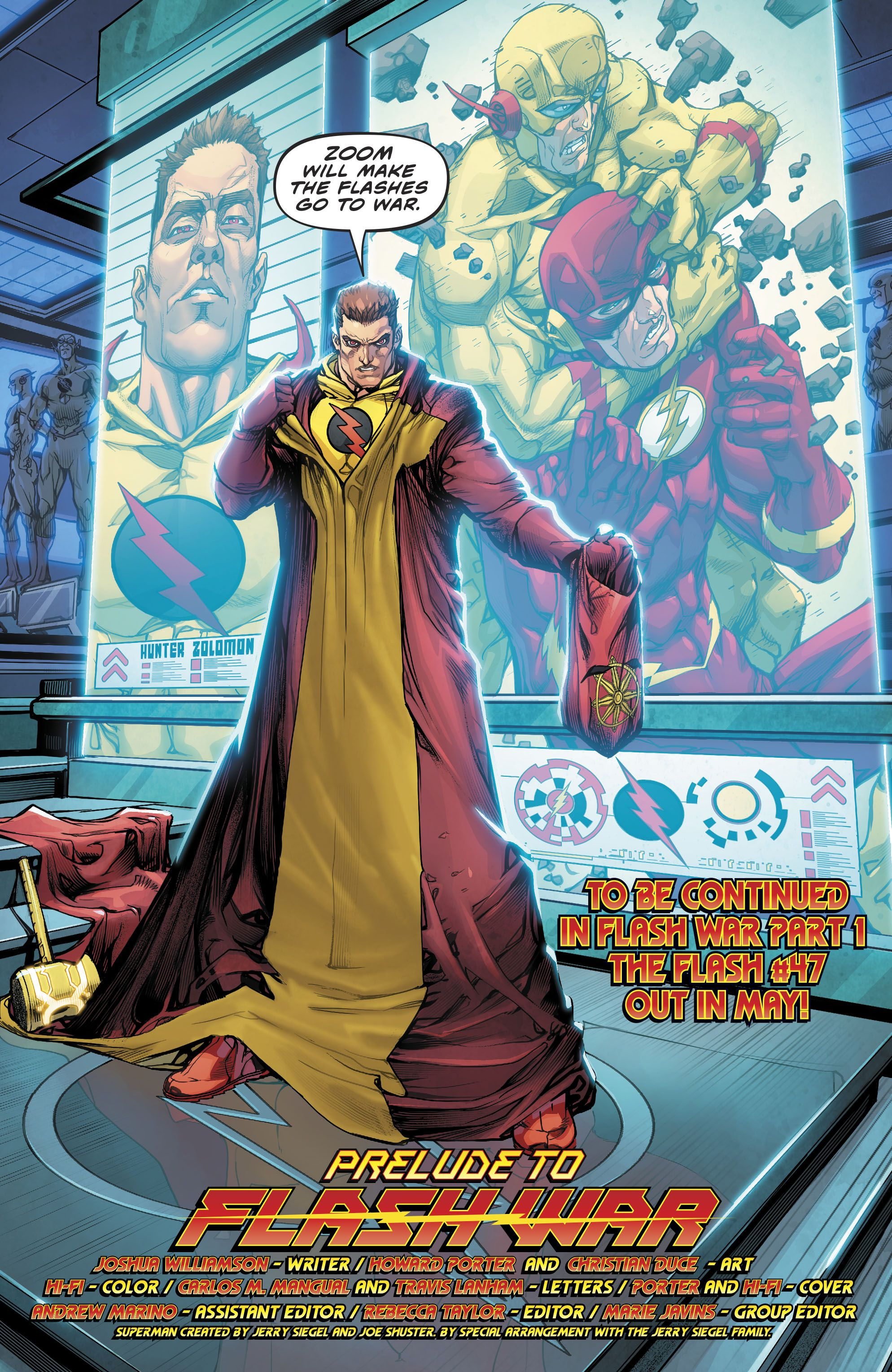 2477c8fb1ab The Flash (2016-): Chapter Annual1 - Page 35 | Anime | Comics, Dc ...