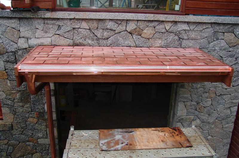 copper roof plywood membranes copper shingles